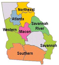 Georgia CCRC regions