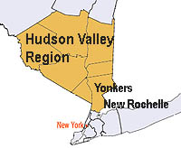 Hudson Valley Region Area