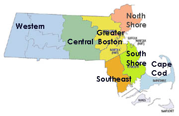 Massachusetts Regions