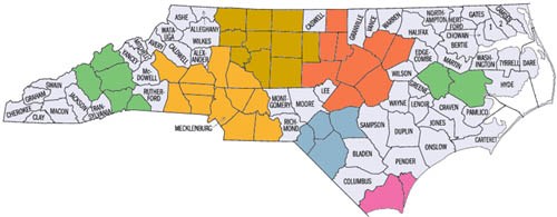 North Carolina CCRC's