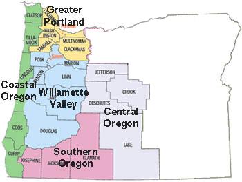 Oregon Regions